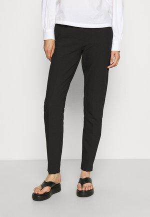 ONLVERONICA PISA CIGARETTE PANT  - Trousers - black