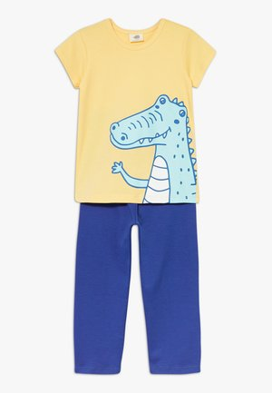 CROCODILE SURFING SET - Pyžamová sada - blue