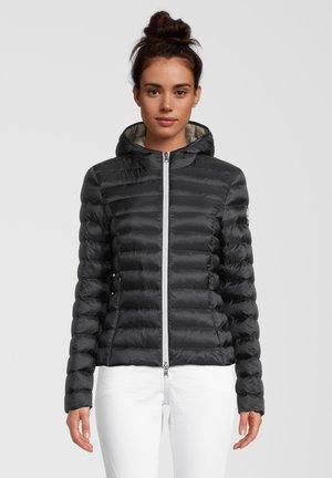BERGEN - Winter jacket - black/iced coffee