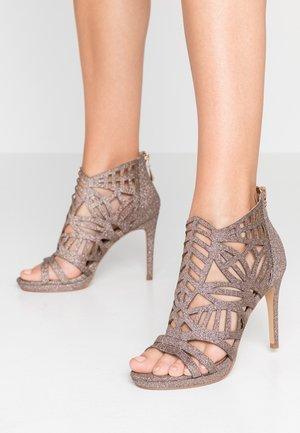 DEMI - High heeled sandals - glitter