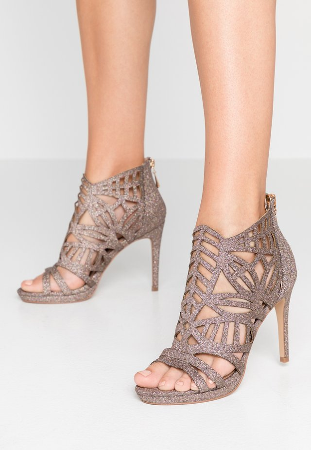 DEMI - Sandaler med høye hæler - glitter