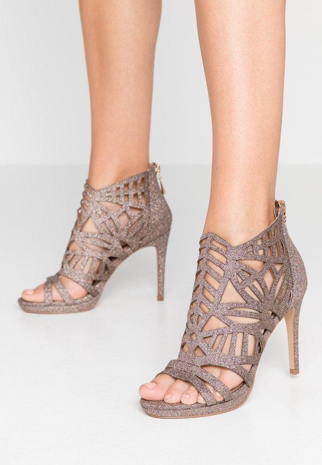 DEMI - Sandalen met hoge hak - glitter