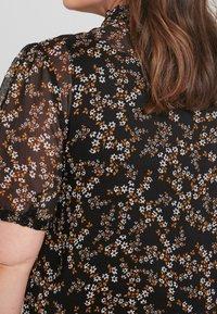 New Look Curves - DITSY PRINT PIE CRUST - Bluser - black - 5
