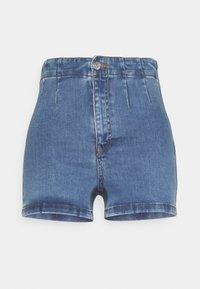 NA-KD - BASIC - Denim shorts - blue - 0