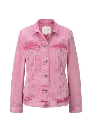 JACKEN & JACKETS JEANSJACKE IM PASTELL-WASHED-LOOK - Denim jacket - washed pink