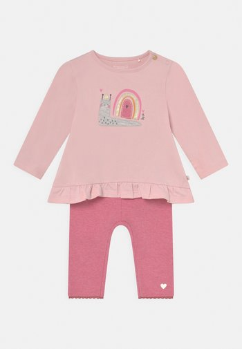 SET - Trousers - pink