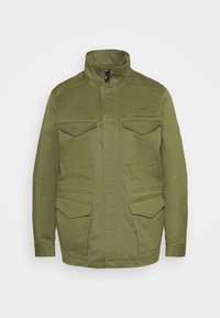 G-Star - FIELD OVERSHIRT WMN - Summer jacket - sage - 4
