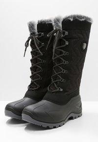 CMP - NIETOS - Zimní obuv - nero melange - 2