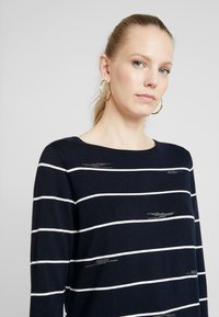 Gerry Weber Casual - 1/1 ARM - Jumper - blau/ecru/weiss - 4