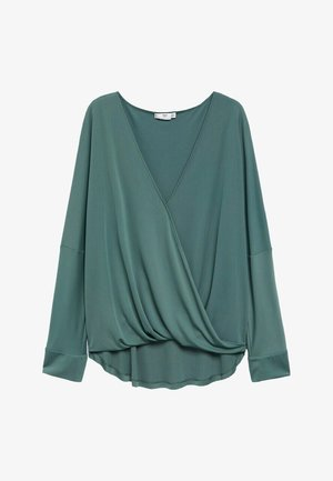 BLACK - Blouse - bosgroen