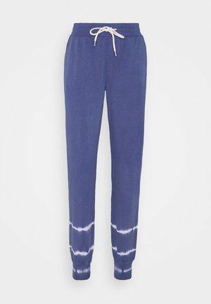 Tracksuit bottoms - washed medium blue