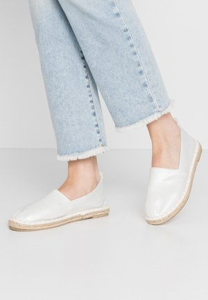 2 PACK  - Espadrillas - gold/silver