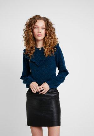COQUETA - Sweter - volga blue