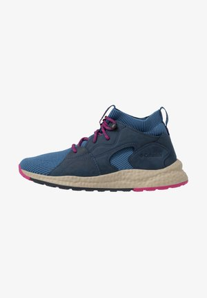 SH/FTOUTDRYMID - Hiking shoes - scout blue/fuchsia