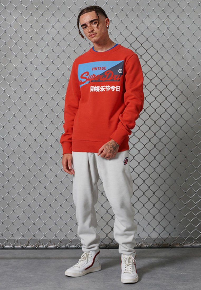 Men SPORT VINTAGE LOGO PRIMARY BRUSHED - Sweatshirt