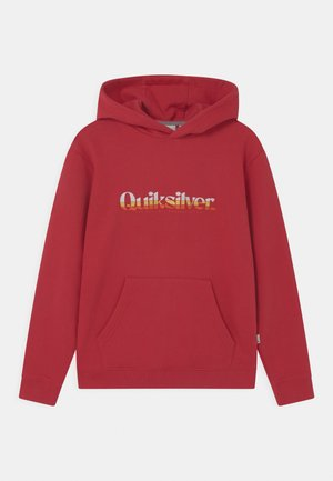 PRIMARY COLORS HOOD YOUTH - Sweat à capuche - american red