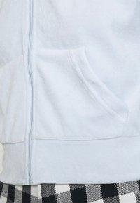 Weekday - JUNO ZIP HOODIE - Zip-up hoodie - baby blue - 4