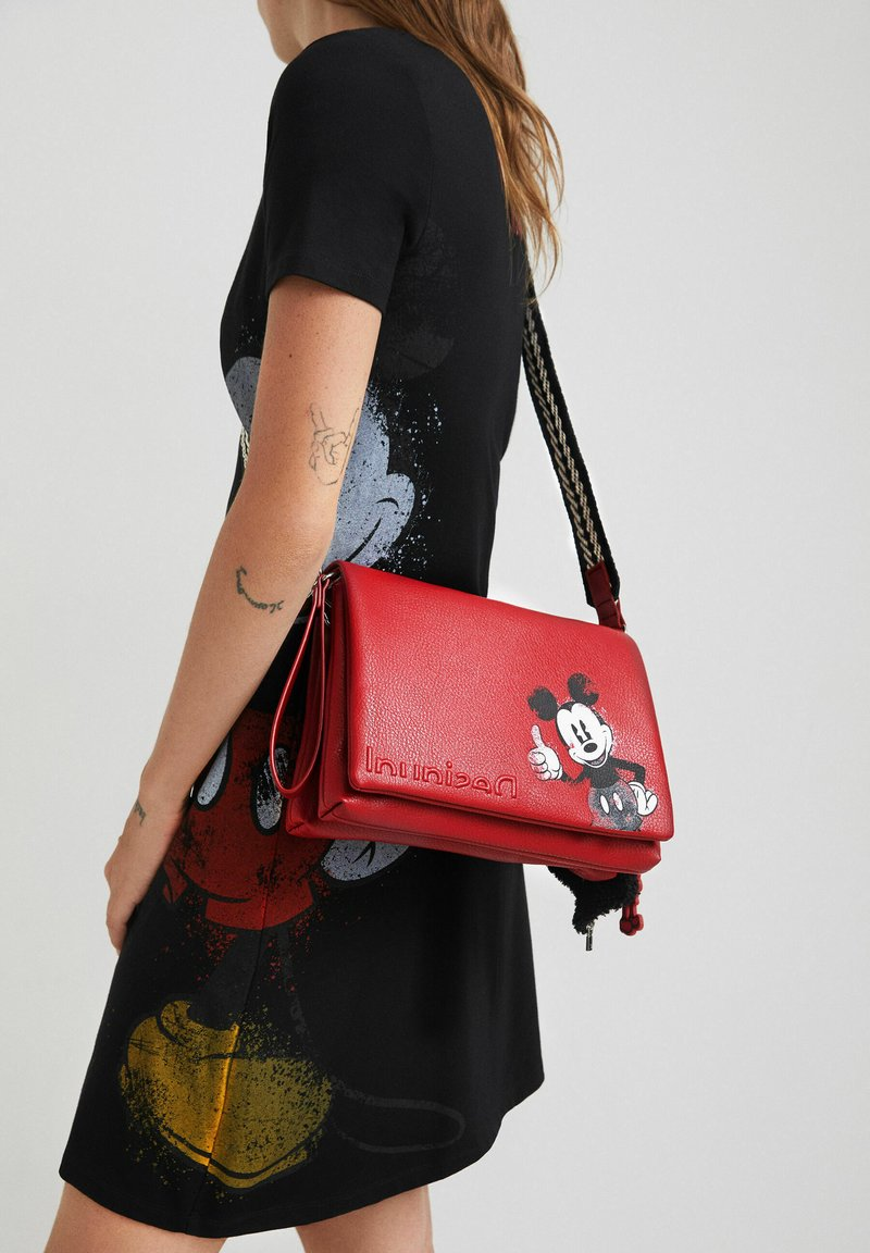 Desigual - MICKEY MOUSE - Sac bandoulière - red