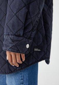 PULL&BEAR - Zimní kabát - dark grey - 5