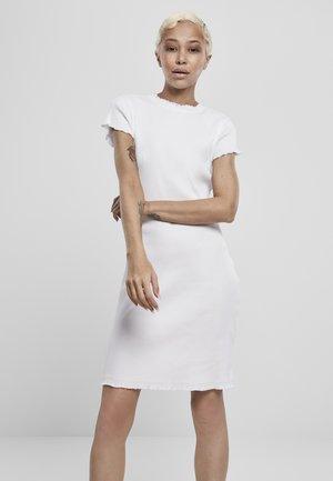 Shift dress - white