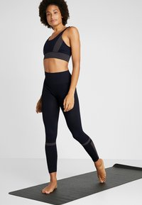 Filippa K - JAQUARD STRIPE LEGGINGS - Legging - night sky - 1
