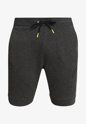24/7 TRACK - Sports shorts - black out melange