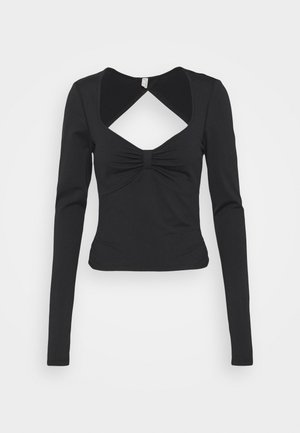 COSMO LAYER - Long sleeved top - black
