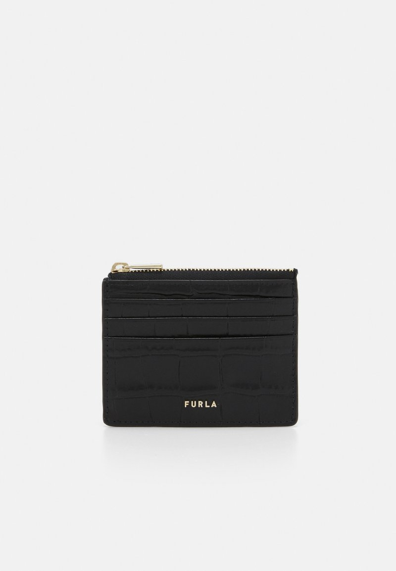 Furla - BABYLON CARD CASE - Peněženka - nero
