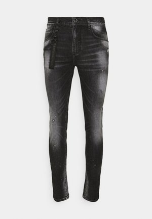 KENNY CARROT FIT STRETCH - Slim fit jeans - black
