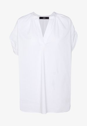 EXCLUSIVE VNECK BLOUSE - Blouse - white