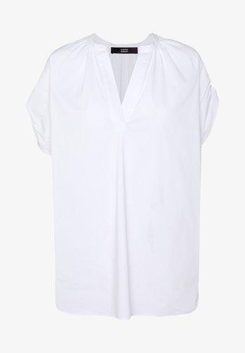 EXCLUSIVE VNECK BLOUSE - Blus - white