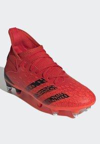 adidas Performance - PREDATOR FREAK - Moulded stud football boots - red - 1