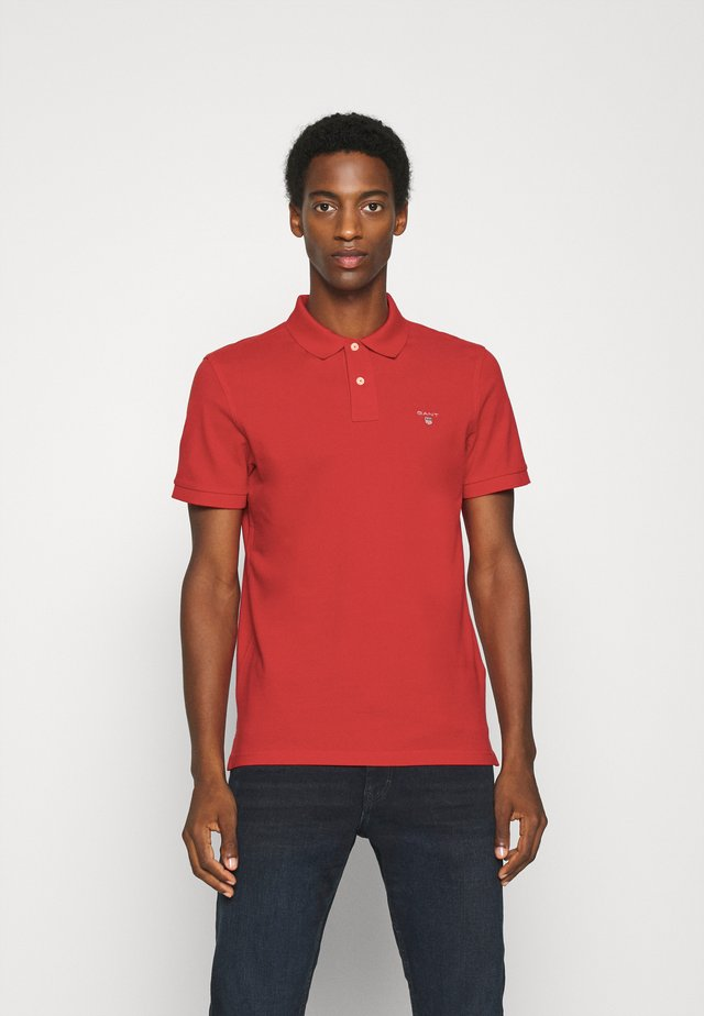 THE ORIGINAL RUGGER - Polo - fiery red