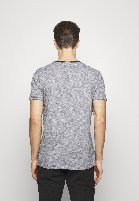 Lindbergh TEE - Print T-shirt - navy YYGHD