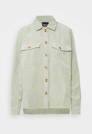 PCEFFI SHIRT - Button-down blouse - desert sage