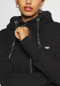 Ragwear - NESKA ZIP - Mikina na zip - black - 6