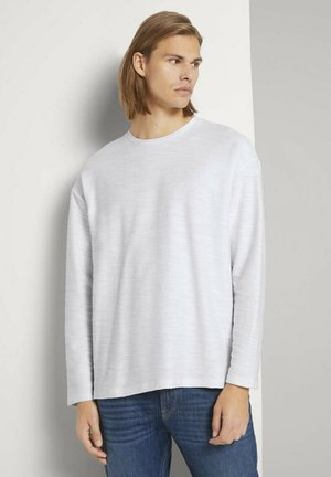 Long sleeved top - wool white