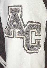 American College - TEDDY - Veste en cuir - grey - 4