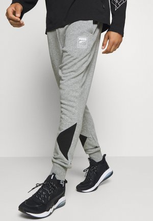 REBEL PANTS BLOCK - Jogginghose - medium gray heather