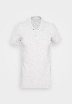 SOLIDS - Poloshirt - heather gray