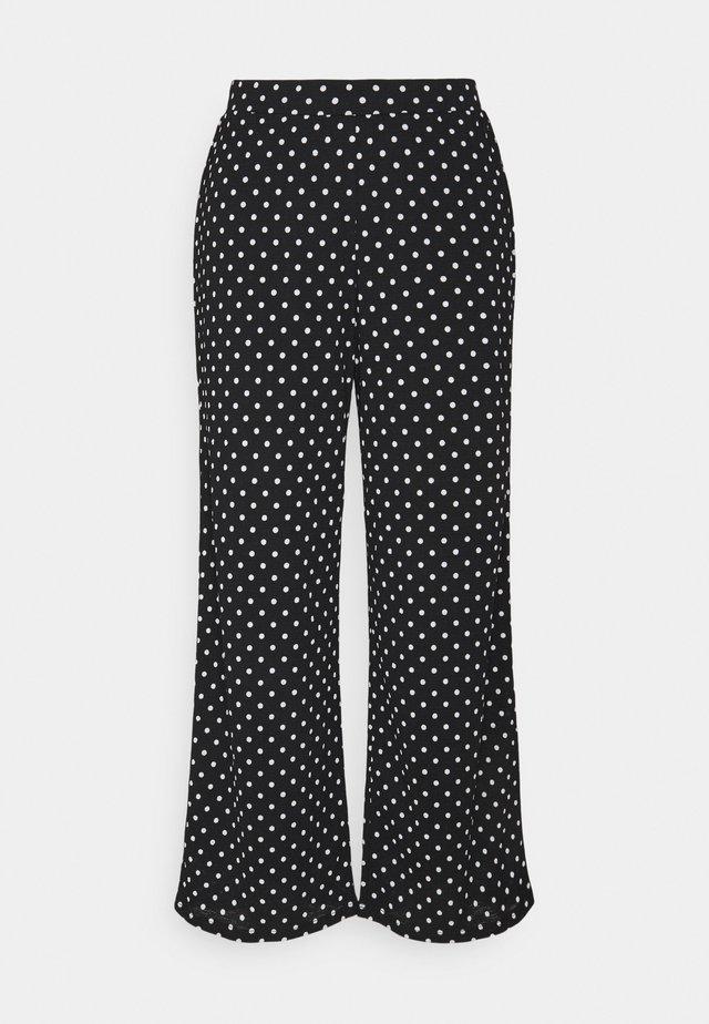 ONLPELLA PANTS - Pantaloni - black/cloud dancer