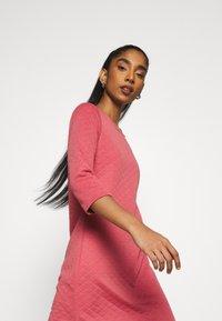 ONLY - ONLJOYCE 3/4 DRESS  - Jersey dress - baroque rose - 3