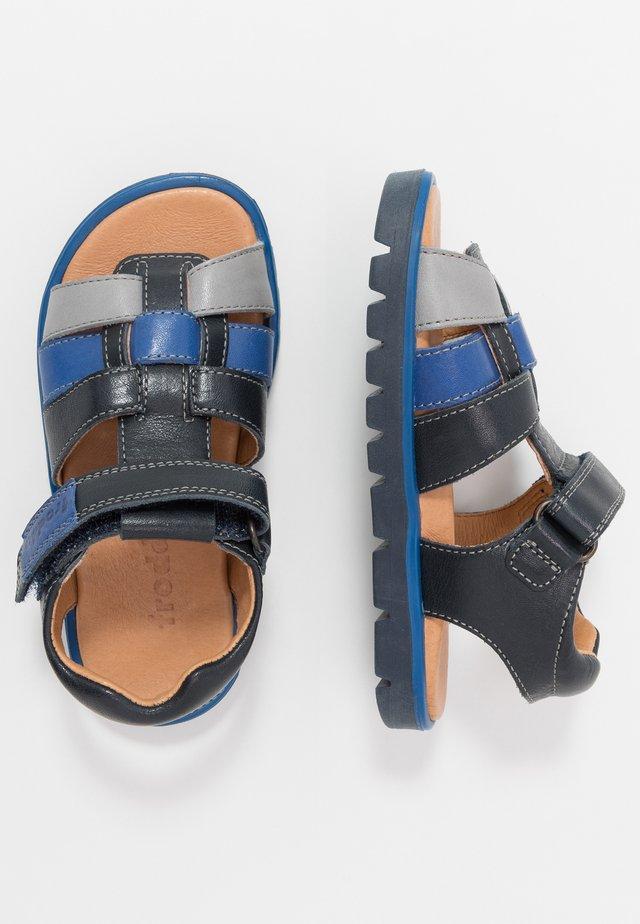 KEKO MEDIUM FIT - Sandaalit nilkkaremmillä - blue