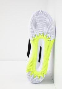 Jordan - Basketball shoes - white/volt/black - 4