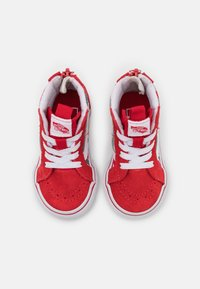 Vans - SK8 ZIP - High-top trainers - racing red/true white - 3