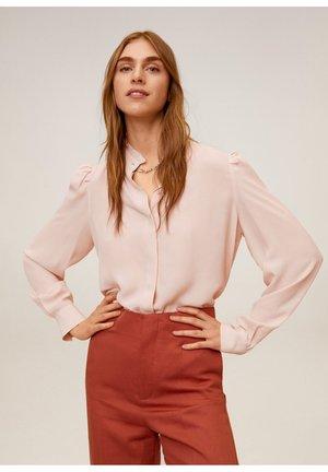NARA - Button-down blouse - nude