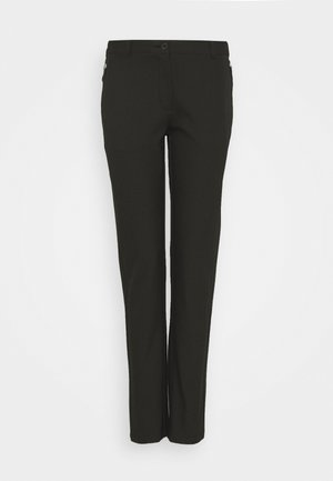 RAY TROUSER - Pantalones - black
