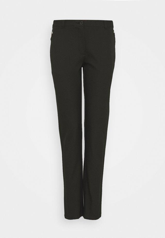 RAY TROUSER - Pantalon classique - black