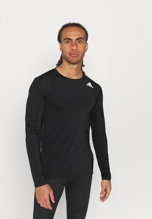 PRIMEGREEN COMPRESSION LONG SLEEVE T-SHIRT - Bluzka z długim rękawem - black