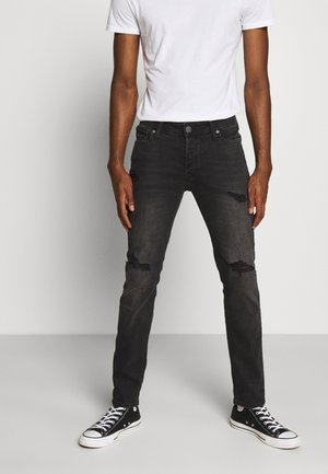 JJIGLENN JJORIGINAL - Slim fit -farkut - black denim